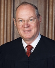 106th US Supreme Court Justice Anthony Kennedy