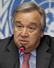 PM of Portugal and Secretary-General of the United Nations António Guterres