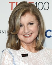 Author and creator of The Huffington Post Arianna Huffington