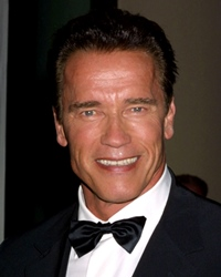 Actor, Body Builder & Politician Arnold Schwarzenegger