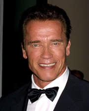 Actor, Body Builder and Governor of California Arnold Schwarzenegger