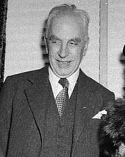 Historian Arnold J. Toynbee