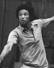 Tennis Player Arthur Ashe