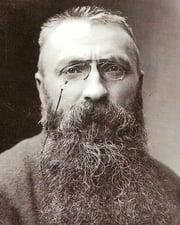 Sculptor Auguste Rodin