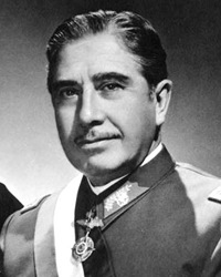 General and Dictator Augusto Pinochet
