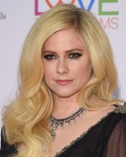 Pop Singer and Songwriter Avril Lavigne