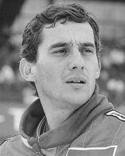 Formula 1 Driver Ayrton Senna