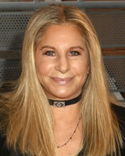 Singer-Songwriter and Actress Barbra Streisand