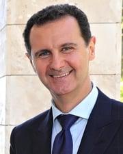 President of Syria Bashar al-Assad