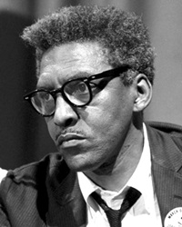 Civil Rights Activist Bayard Rustin