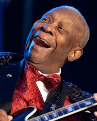 Blues Musician B.B. King
