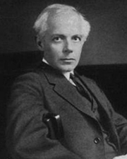 Composer and Pianist Béla Bartok