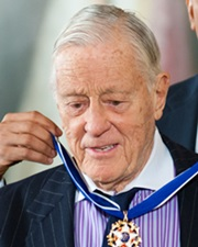 Journalist Ben Bradlee