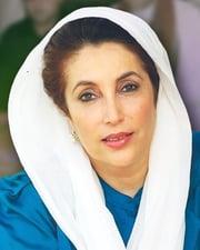 Pakistani Politican Benazir Bhutto