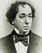 British Prime Minister Benjamin Disraeli