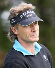 Golfer and Two-Time Masters Champion Bernhard Langer