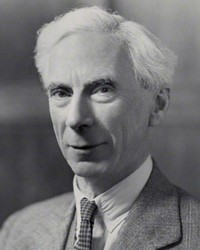 Philosopher Bertrand Russell