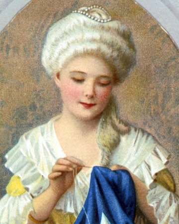 Seamstress Credited with Creating the First American Flag Betsy Ross