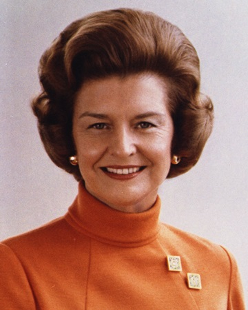 US First Lady Betty Ford