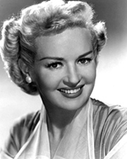 Film actress Betty Grable