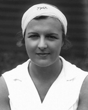 Tennis Player Betty Nuthall