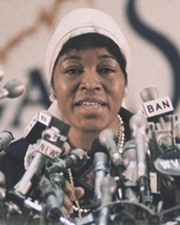 Civil Rights Activist Betty Shabazz