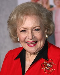 Actress and Comedian Betty White