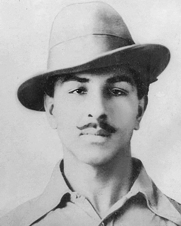 Indian Independence Fighter Bhagat Singh