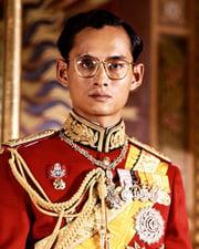 King of Thailand Bhumibol Adulyadej