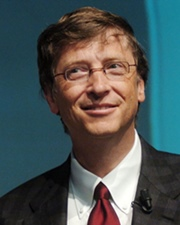 Founder of Microsoft and Computer Scientist Bill Gates