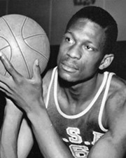 Basketball Player Bill Russell
