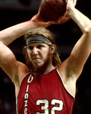 NBA Center and Television Sportscaster Bill Walton