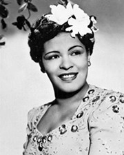 Jazz Musician Billie Holiday