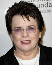 Tennis Legend Billie Jean King