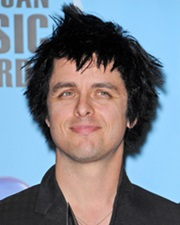 Singer Billie Joe Armstrong