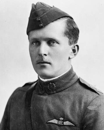 Canadian First World War Flying Ace Billy Bishop