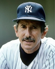 Baseball Player and Manager Billy Martin