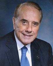 US Senator and Presidential Candidate Bob Dole