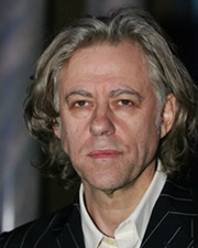 Singer-Songwriter and Political Activist Bob Geldof