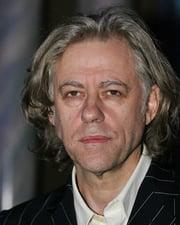 Singer-Songwriter and Political Activist Bob Geldof