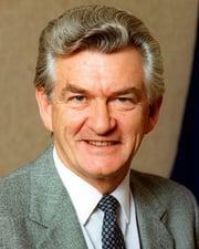 23rd Australian Prime Minister Bob Hawke