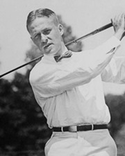 Golfer Bobby Jones