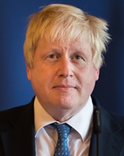 British Politician Boris Johnson
