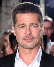 Actor and Producer Brad Pitt