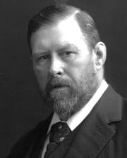 Novelist Bram Stoker