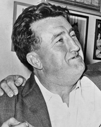 Irish Poet and Playwright Brendan Behan