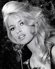 Actress and Model Brigitte Bardot
