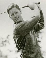Golfer Byron Nelson