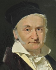 Mathematician, Astronomer and Physicist Carl Friedrich Gauss