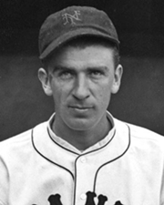 Baseball Pitcher Carl Hubbell